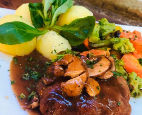 Mittagstisch Rhein Restaurant Oppenheim