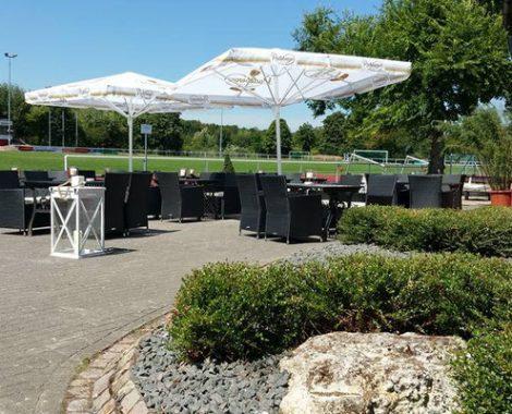 Außenbereich Restaurant Nieder-Olm